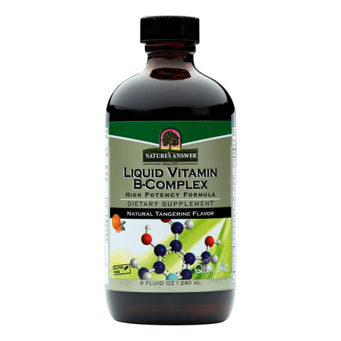 Nature's Answer - Liquid Vitamin B-complex - 8 Fl Oz