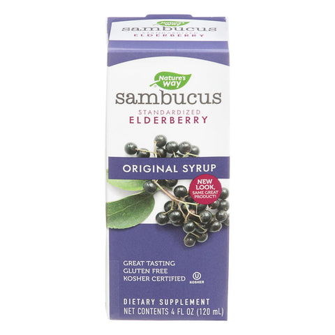 Nature's Way - Sambucus Original Syrup - 4 Fl Oz