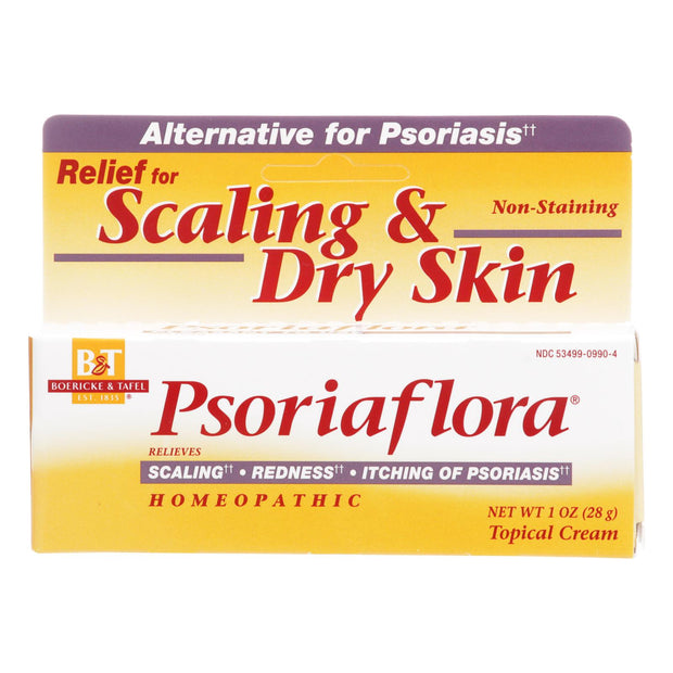 Boericke And Tafel - Psoriaflora Topical Cream - 1 Oz
