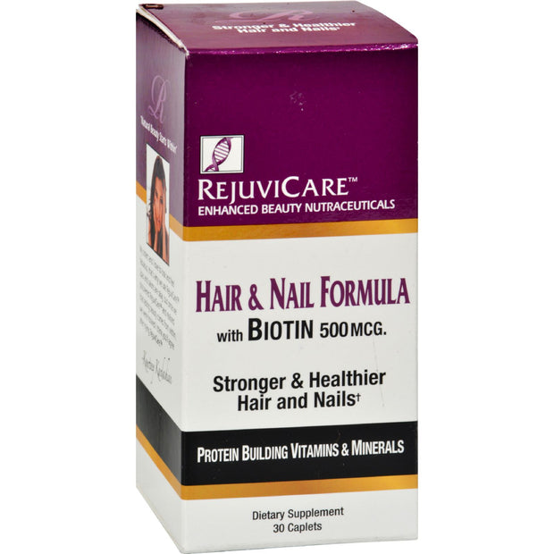 Rejuvicare Hair And Nail Formula - 30 Caplets