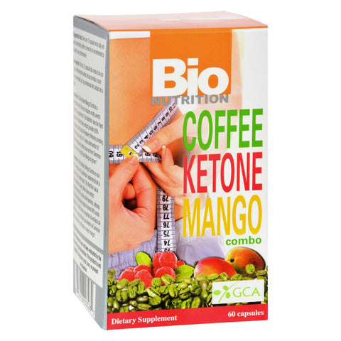 Bio Nutrition - Coffee Keytone Mango Combo - 60 Ct