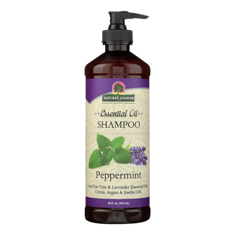 Nature's Answer Peppermint Essential Oil Shampoo - 1 Each - 16 Oz
