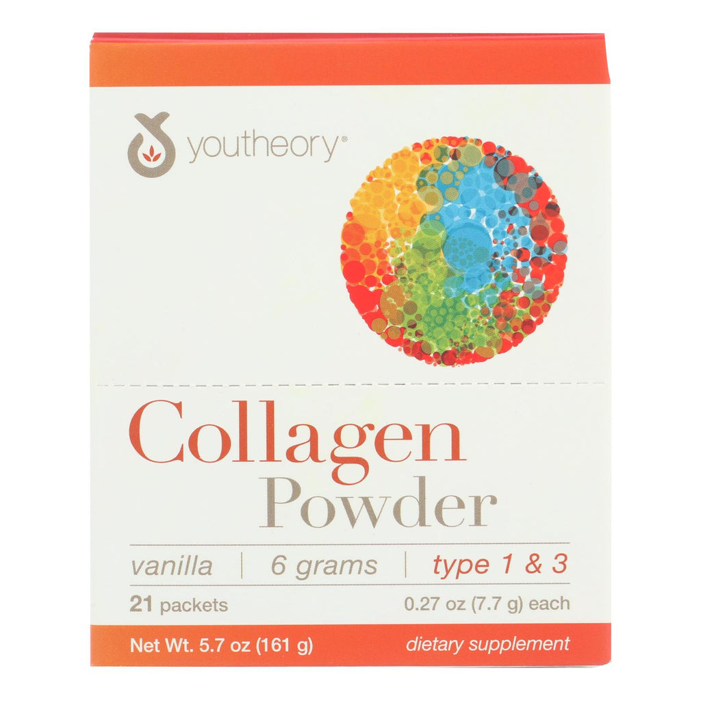 Youtheory Dietary Supplement Collagen Powder  - 1 Each - 21 Ct