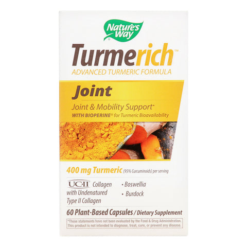 Nature's Way Turmerich Joint, Joint  - 1 Each - 60 Vcap