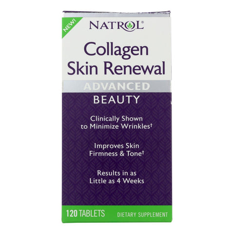 Natrol - Collagen Skin Renewal - 1 Each - 120 Tab
