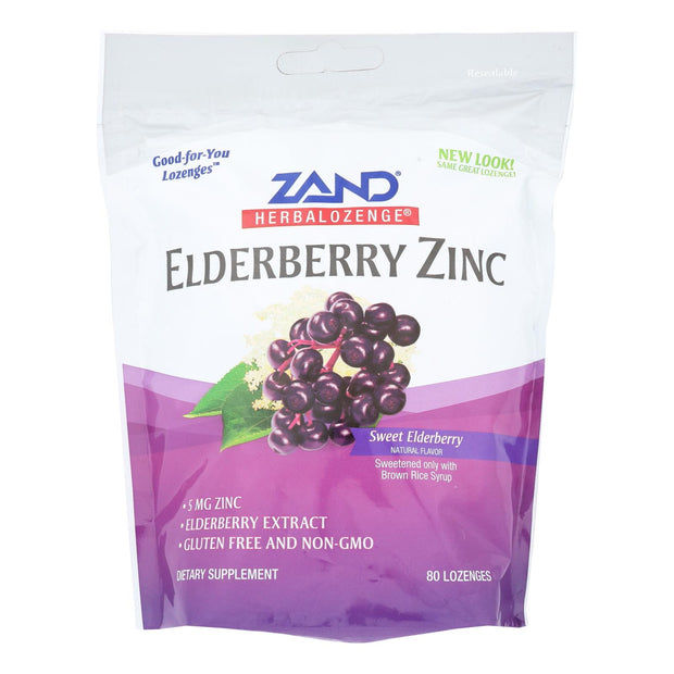 Zand - Loz Elderberry Zinc - 80 Ct