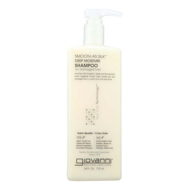 Giovanni Hair Care Products - Shampoo Smooth Deep Moisture - 24 Fz