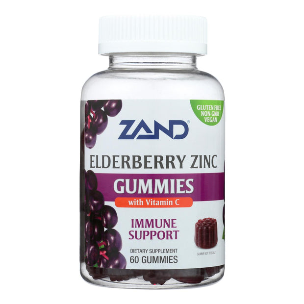Zand - Gummies Elderberry Zinc - 1 Each - 60 Ct