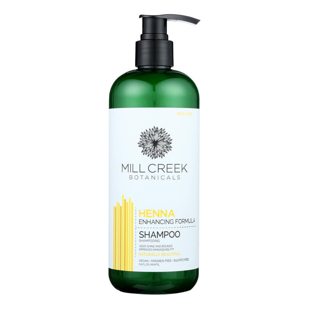 Mill Creek Botanicals Henna Shampoo  - 1 Each - 14 Fz