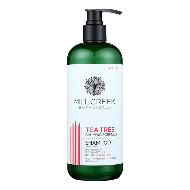 Millcreek Botanicals Tea Tree Shampoo  - 1 Each - 14 Fz