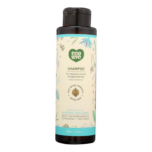 Ecolove - Shampoo Nut Int Cr Srt Hair - 1 Each - 17.6 Oz