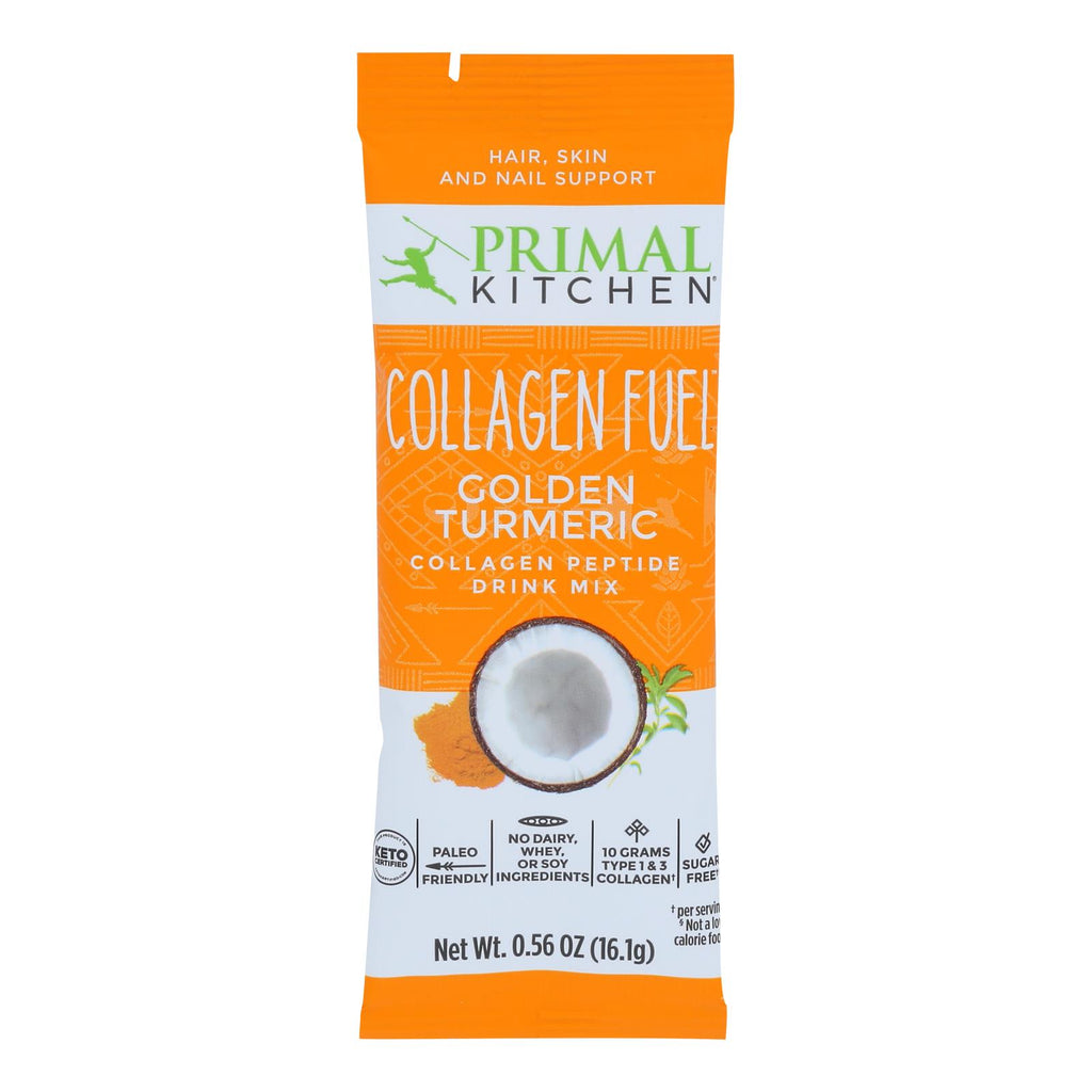 Primal Kitchen - Collagen Fuel Golden Turmrc - Case Of 12 - .56 Oz