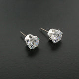 9mm CZ Stud Earrings - D20396E