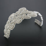Art Nouveau Inspired Crystal Headband - HB41