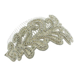 Art Nouveau Inspired Crystal Haircomb - HC10
