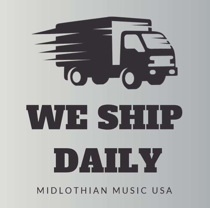 Midlothian Music Ships Daily