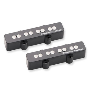 Shop online for Seymour Duncan SJB-3 Quarter Pound Jazz Bass Set Pickups Black today. Now available for purchase from Midlothian Music of Orland Park, Illinois, USA