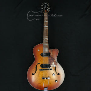 Godin 5th Avenue CW Kingpin II Cognac Burst Archtop