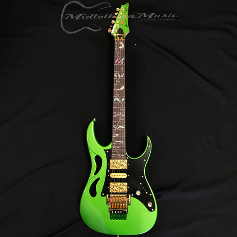 Ibanez PIA3761 Limited Edition Steve Vai Signature Electric Guitar Envy Green
