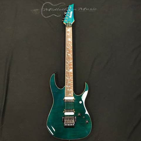 Ibanez RG8520GE J Custom Electric Guitar Green Emerald