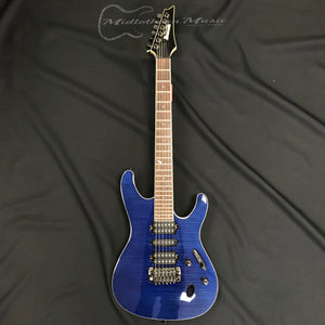 Ibanez® Prestige SV5470FNBL Natural Blue Electric Guitar