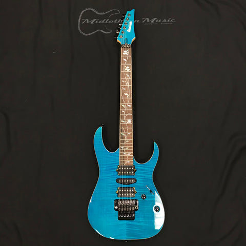 Ibanez RG8570ZCRA J Custom Electric Guitar Chrysocolla