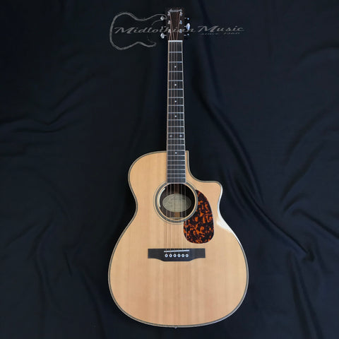 Larrivee® OMV-60E Traditional Series Acoustic Electric Guitar