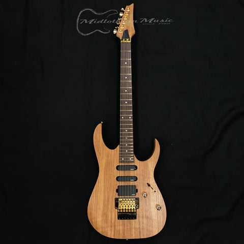Ibanez Premium RG6PKAG Electric Guitar Natural Flat