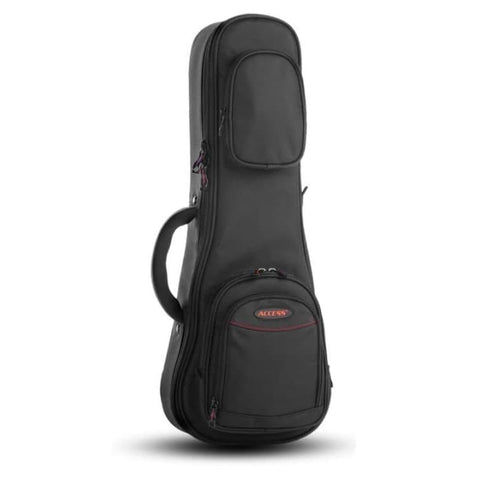 Shop online for Access AB3UKHB Stage Three Concert/Soprano Ukulele Hard Gig Bag today.  Now available for purchase from Midlothian Music of Orland Park, Illinois, USA