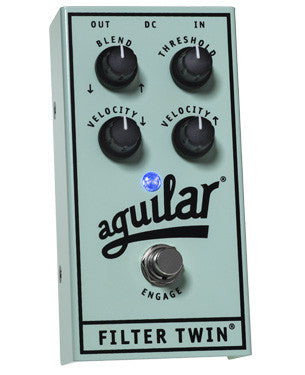 Aguilar Filter Twin ® Dual Envelop Filter Bass Effects Pedal