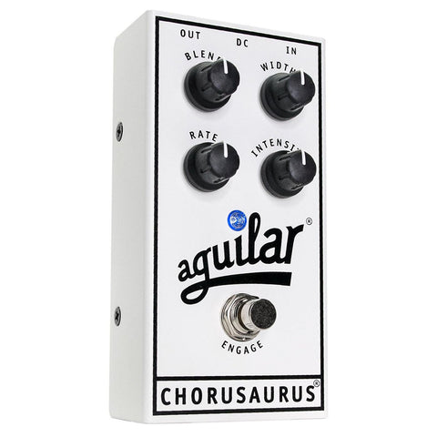 Shop online for Aguilar Chorusaurus Bass Chorus Pedal today.  Now available for purchase from Midlothian Music of Orland Park, Illinois, USA
