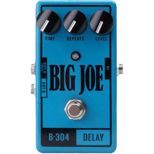 Shop online for Big Joe Stomp Box Company B-304 Analog Delay today. Now available for purchase from Midlothian Music of Orland Park, Illinois, USA