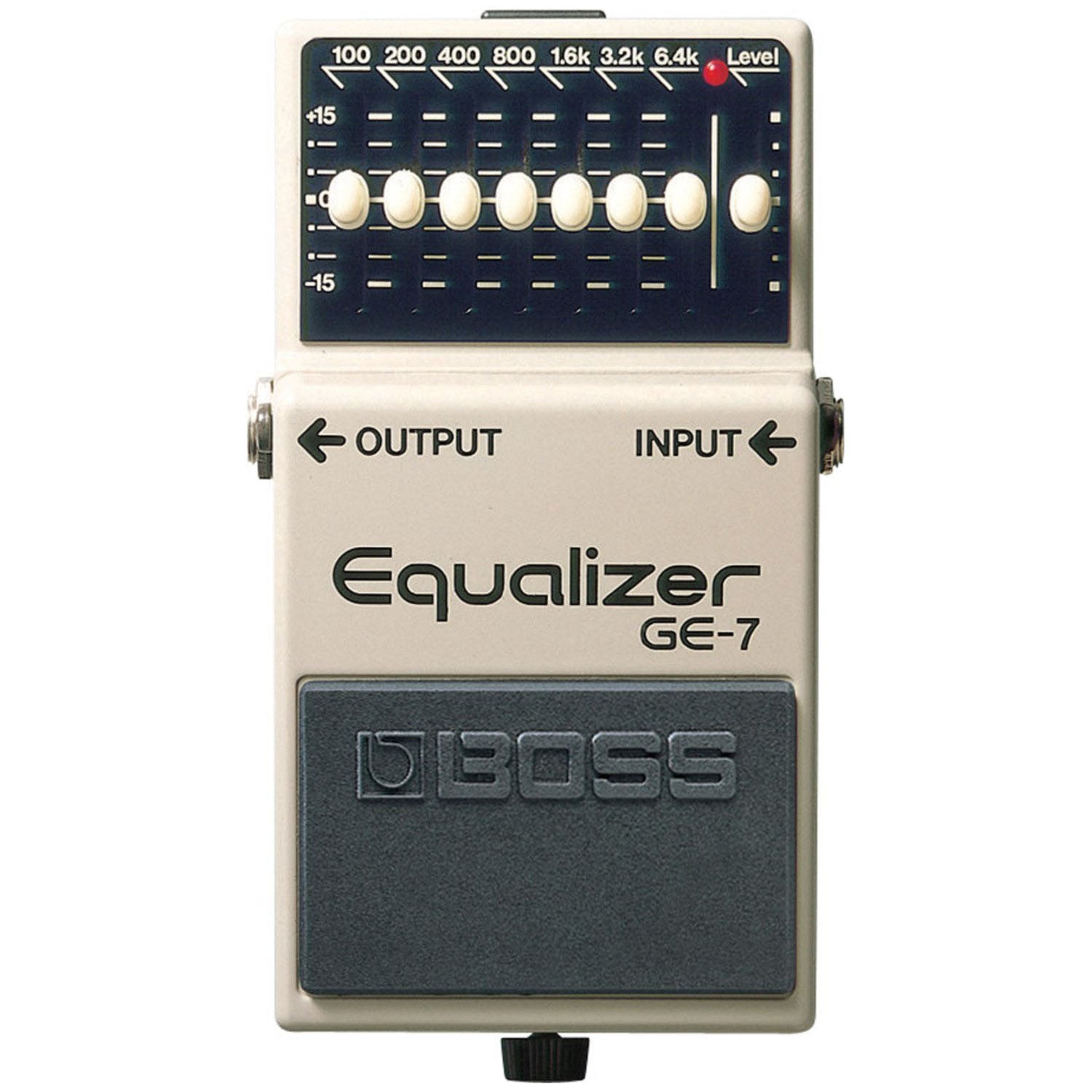Shop online for Boss GE-7 Equalizer Pedal today.  Now available for purchase from Midlothian Music of Orland Park, Illinois, USA