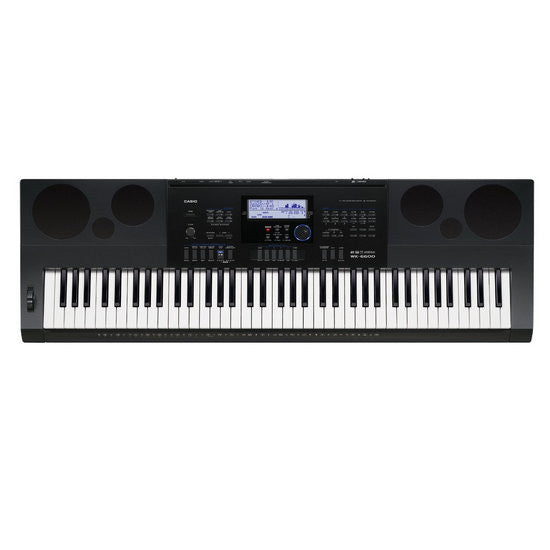 Casio WK6600 76-Key Portable Piano Keyboard