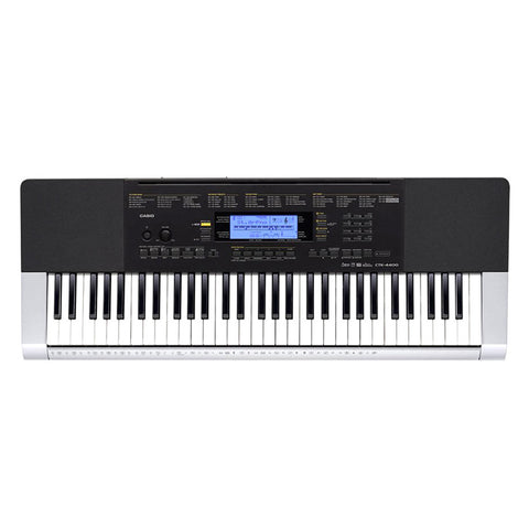 Shop online for Casio CTK-4400 61-Key Portable Piano Keyboard w/AC Adapter today. Now available for purchase from Midlothian Music of Orland Park, Illinois, USA