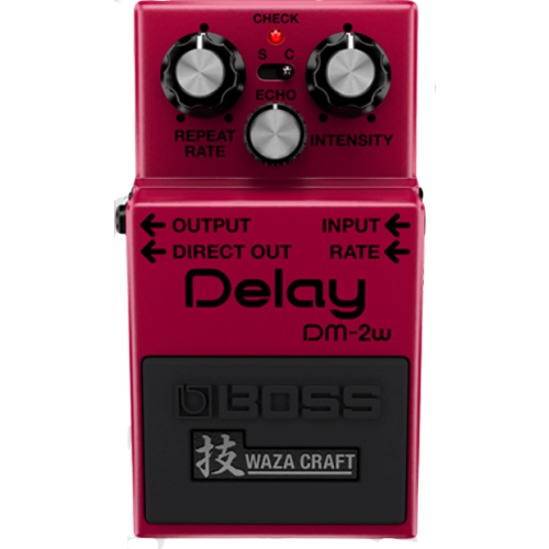 Shop online for Boss DM-2W Delay Pedal today.  Now available for purchase from Midlothian Music of Orland Park, Illinois, USA