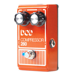 Shop online for DOD Compressor 280 Effect Pedal today. Now available for purchase from Midlothian Music of Orland Park, Illinois, USA