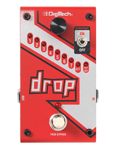 DigiTech DROP Polyphonic Drop Tune Pitch-Shifter w/power supply