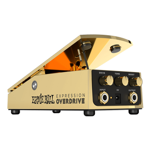 Shop online for Ernie Ball Expression Overdrive Effect Pedal [PO6183] today. Now available for purchase from Midlothian Music of Orland Park, Illinois, USA