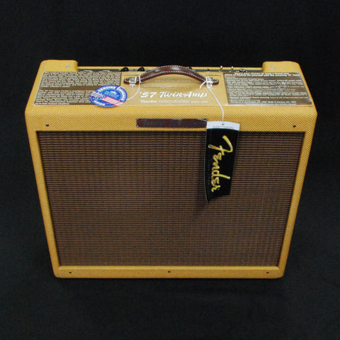 Shop online for Fender '57 Custom Twin-Amp Display Model Discounted today.  Now available for purchase from Midlothian Music of Orland Park, Illinois, USA