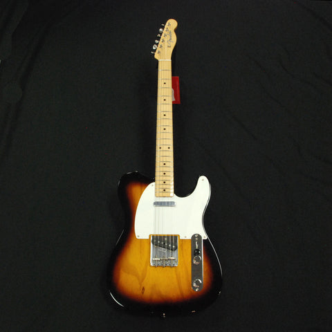 Shop online for Fender American Vintage '58 Telecaster Tobacco Sunburst NOS [F58TS] today.  Now available for purchase from Midlothian Music of Orland Park, Illinois, USA