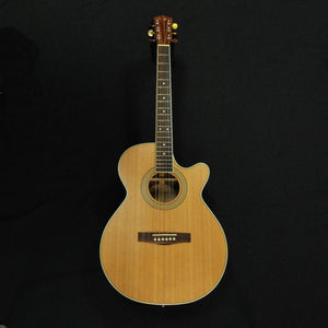 Shop online for Fender JG-26SCE Mini-Jumbo Acoustic/Electric Cutaway Guitar Natural (NOS) today. Now available for purchase from Midlothian Music of Orland Park, Illinois, USA