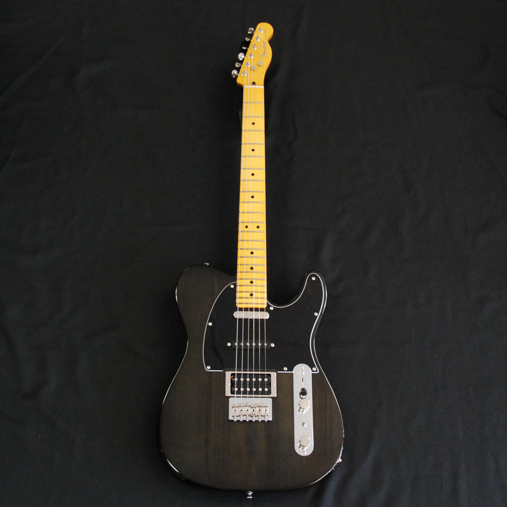 Fender Modern Player Telecaster Plus Electric Guitar  Transparent Charcoal