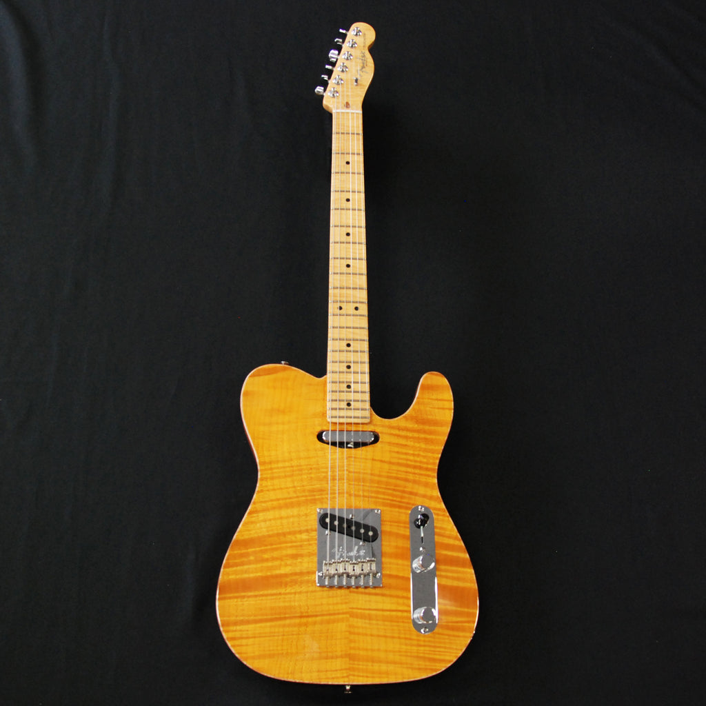 Fender Select USA Carved Maple Top Telecaster Amber NOS