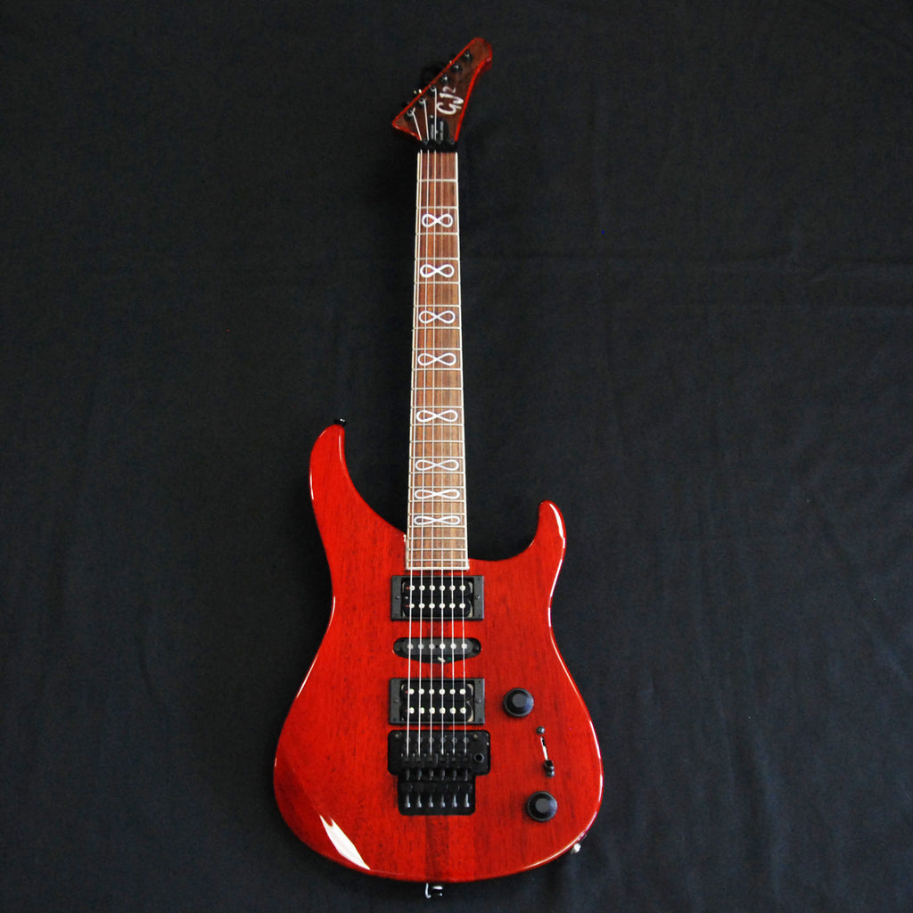 GJ2 Arete 5 HSH Custom Mahogany Transparent Cherry