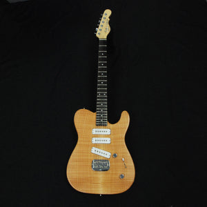 Shop online for G&L USA Custom ASAT Special 3 Natural Flame Top RARE today. Now available for purchase from Midlothian Music of Orland Park, Illinois, USA
