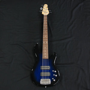 Shop online for G&L Tribute L2500 5 String Electric Bass Guitar Blueburst today.  Now available for purchase from Midlothian Music of Orland Park, Illinois, USA