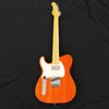 G&L ASAT Classic Bluesboy Left Hand Solidbody USA Electric Guitar Clear Orange