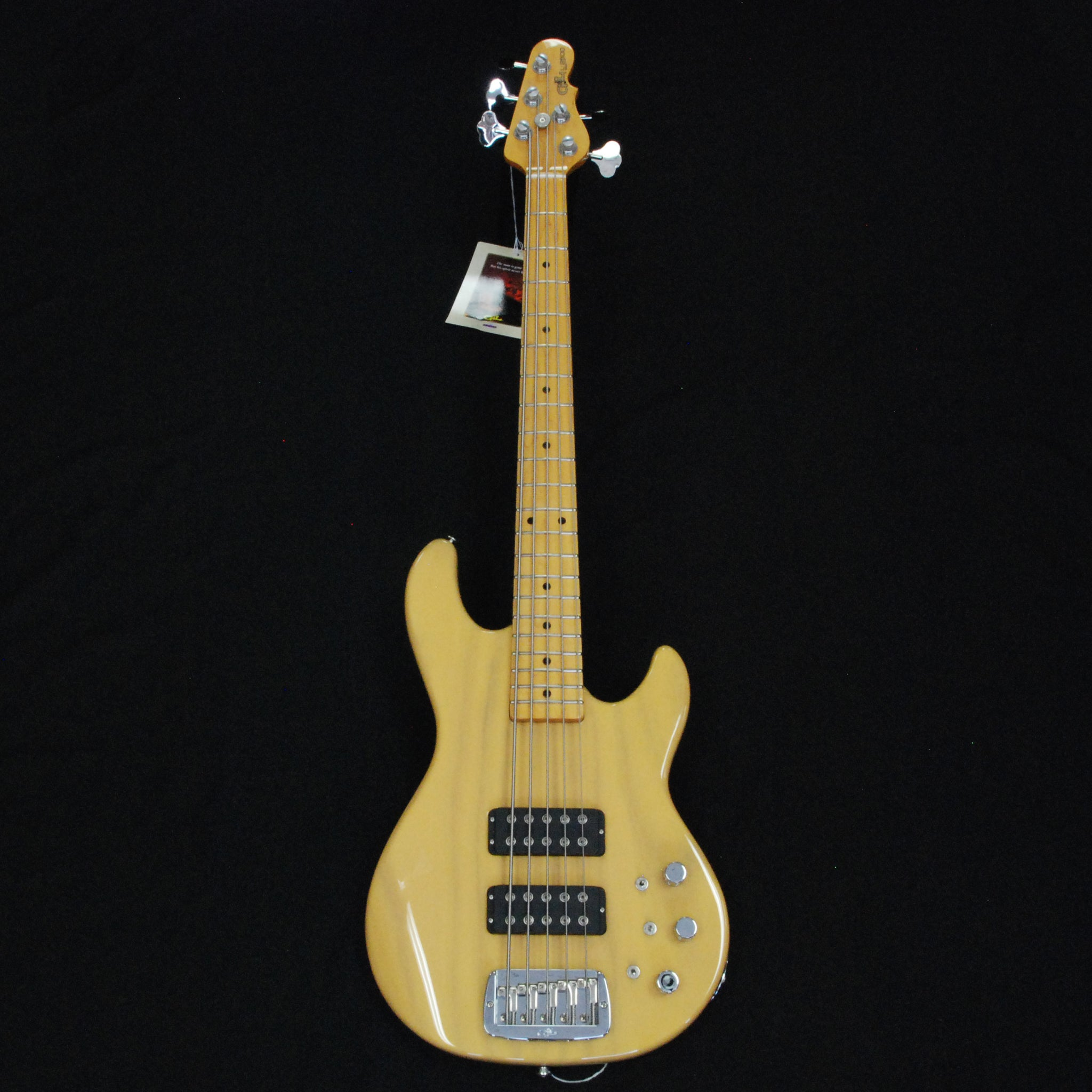 Shop online for G&L USA L2500 Custom USA 5 String Bass Guitar Butterscotch Blonde #CLF73664 today.  Now available for purchase from Midlothian Music of Orland Park, Illinois, USA