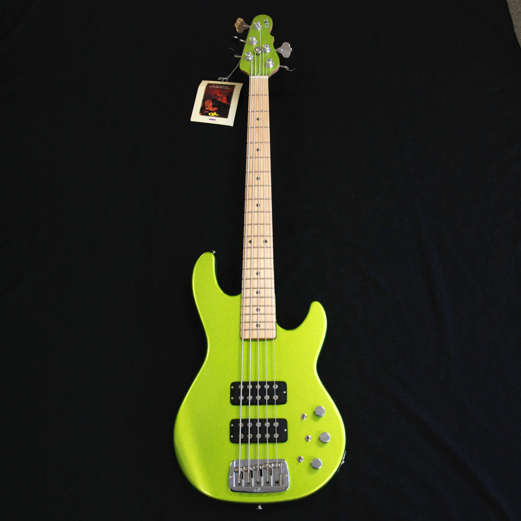 G&L USA L2500 5 String Bass Margarita Mist